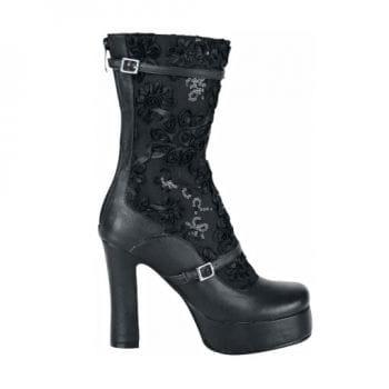 Inamagura Gothic Lace Boots