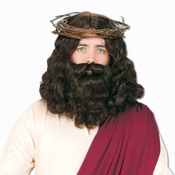 Jesus wig with beard