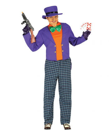 Crazy Joker Men Costume