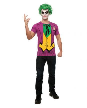 Joker Shirt mit Perücke