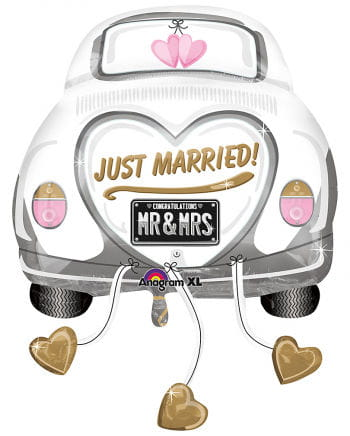 Just Married Car Foil Balloon