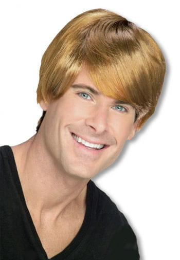 Justin Beaver Wig Blonde