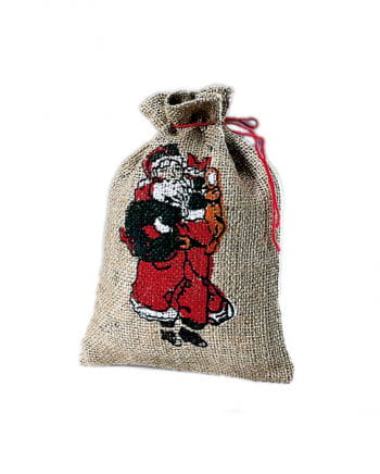Jute bag 17 x 24 cm with imprint