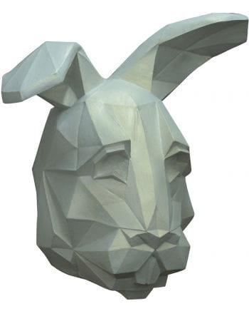 Low poly rabbit mask