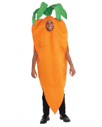 Unisex carrot costume