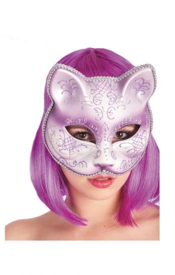 Katzenmaske violett