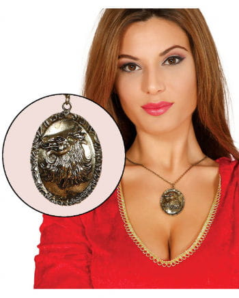 Necklace With Gold Amulet Gold