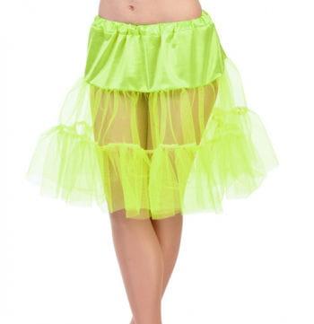 Children neon yellow petticoat