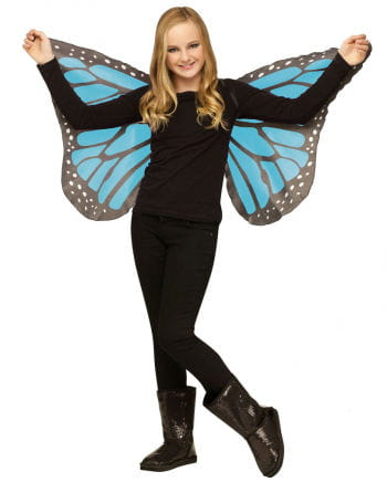 Kinder Schmetterlingsflügel Türkis