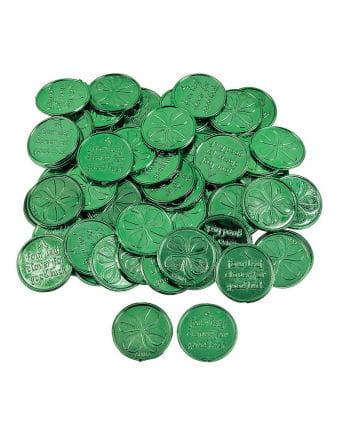 Shamrock coins