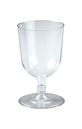 Small dessert glasses Clear