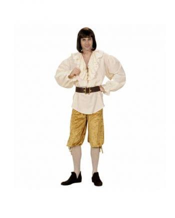 Breeches beige velvet