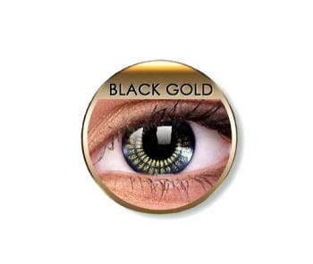 Kontaktlinsen Black Gold