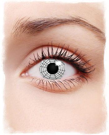 Spinnennetz Kontaktlinse
