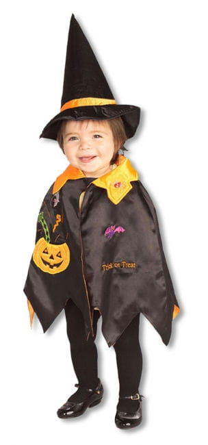Pumpkin Witch Child Costume