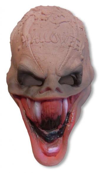 Zombie Pumpkin Mask Foam Latex