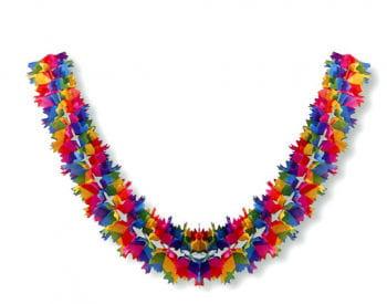 Rainbow garland 4m