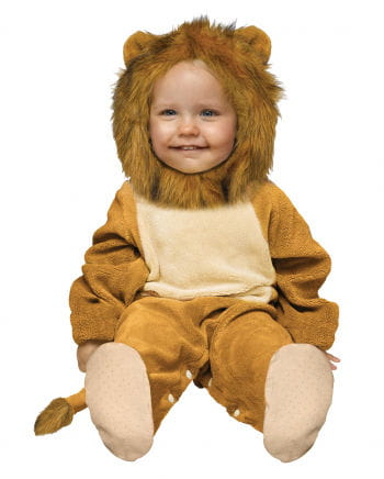 Cuddly Baby Lion costume 12-24 Mo