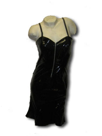 Gothic PVC dress black size medium