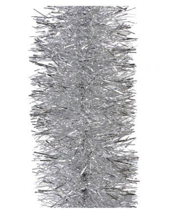 Tinsel garland - Silver 2,7m