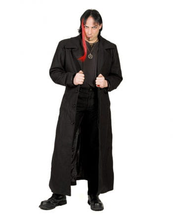 Nosferatu Coat Black