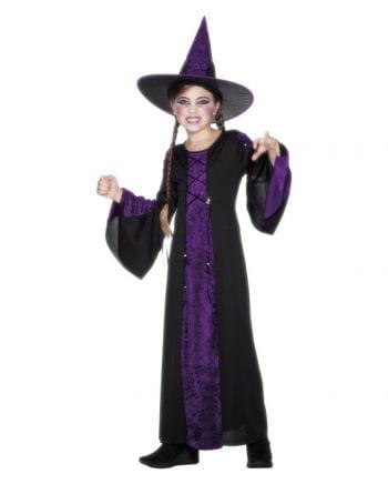 Langes Hexen Kinderkostüm