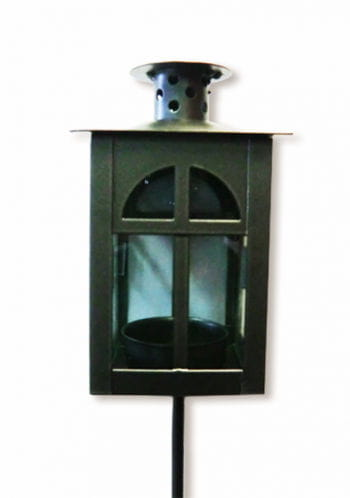 Lantern made of metal