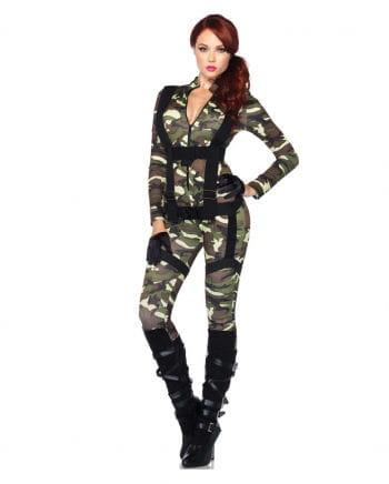 Fallschirmjägerin Woman Costume