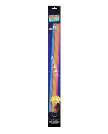 Glow Stick Necklaces 10 St.