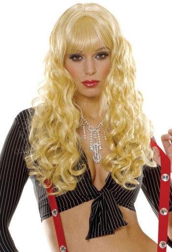 Lockenperücke Daniela blond