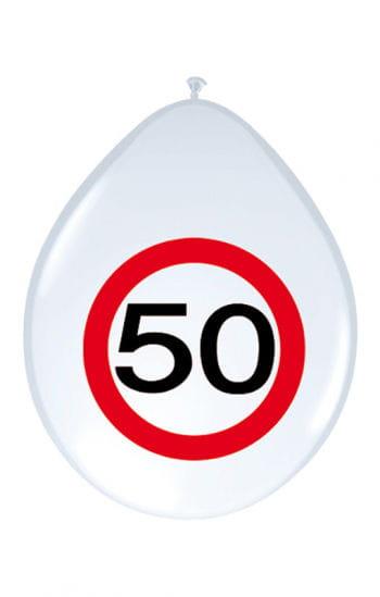 Air Balloon Road Sign 50