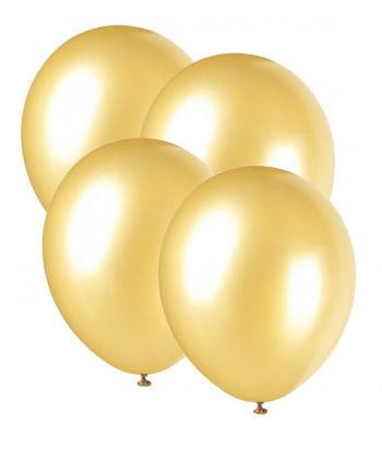 Luftballons Metallic Gold 25 St.