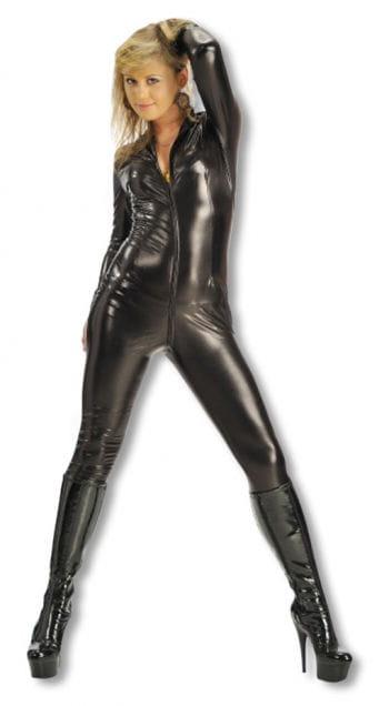 Lycra Catsuit schwarz S