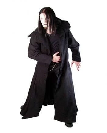 Gothic black wool coat