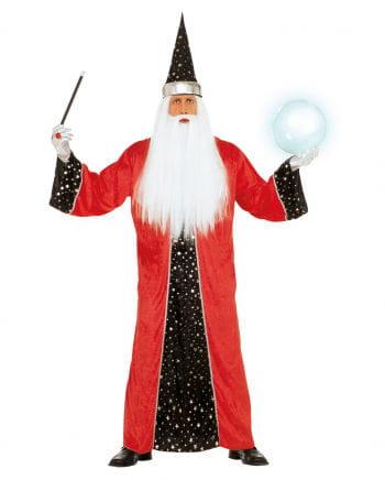 Magier Kostüm Rot XL