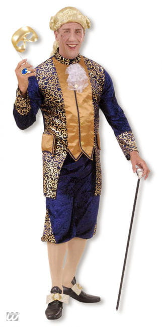 The Marquis Costume Blue/Gold