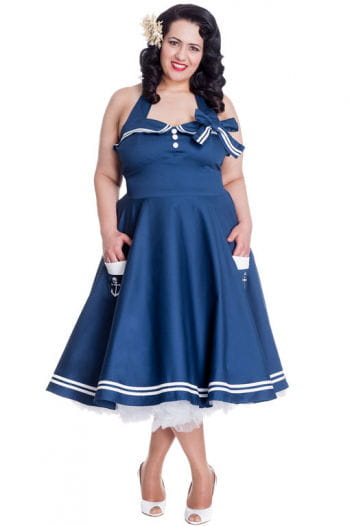 Matrosen Kleid Plus Size