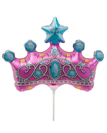 Mini-Folienballon Prinzessinnenkrone