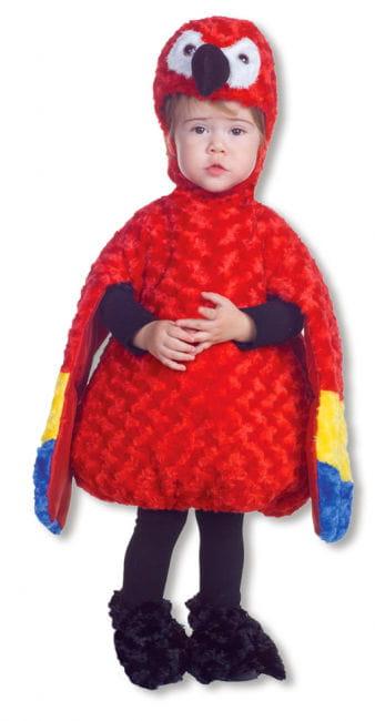 Mini Plüsch Papagei Babykostüm