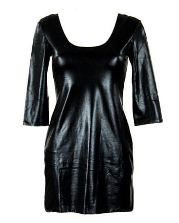 Mini dress in leather look Gr.M
