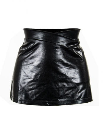 Miniskirt imitation leather Gr.L