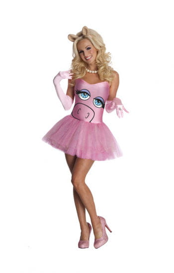 Miss Piggy Ladies Costume
