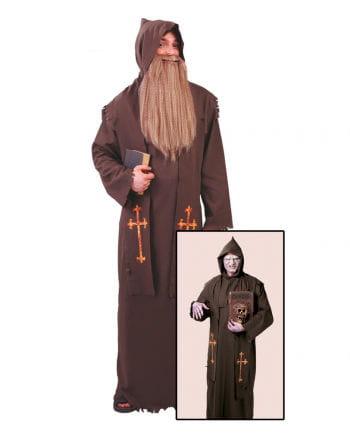 Mönchskutte Kostüm mit Stola