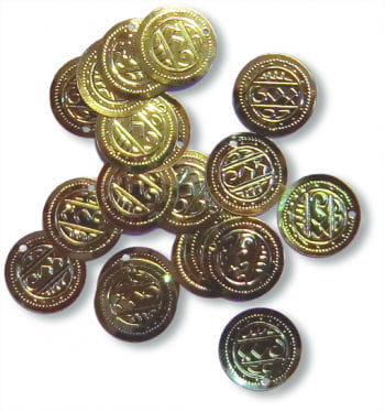 Stitch-On Coins 18 mm 20PCS