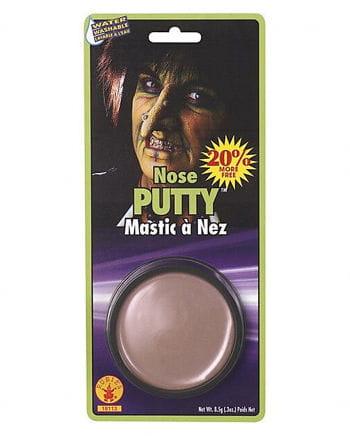 Nose wax makeup effect