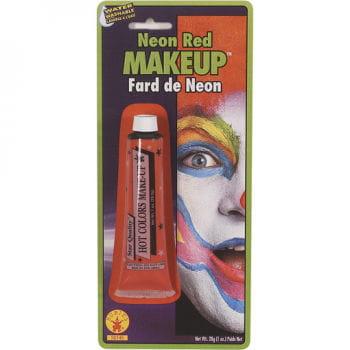 Neon Makeup Red