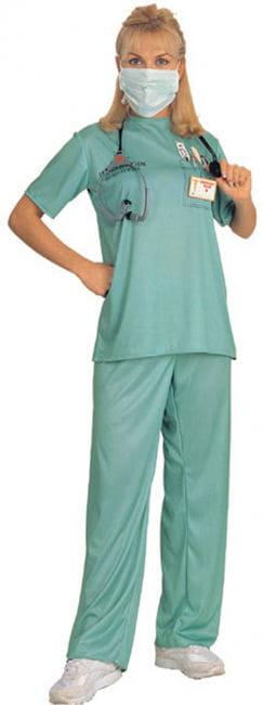 Emergency room doctor costume