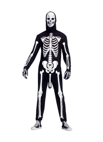 Horny skeleton costume