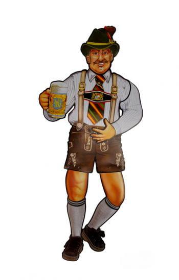 Oktoberfest figure stand
