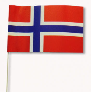 Papierfähnchen Norwegen 50 Stück